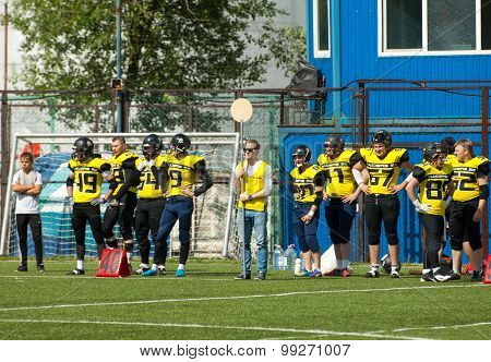 Benchwarmers Of Raiders52 Team