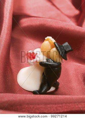 Wedding Cake Figurine