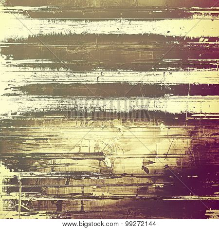 Abstract grunge background or old texture. With different color patterns: yellow (beige); brown; purple (violet); gray
