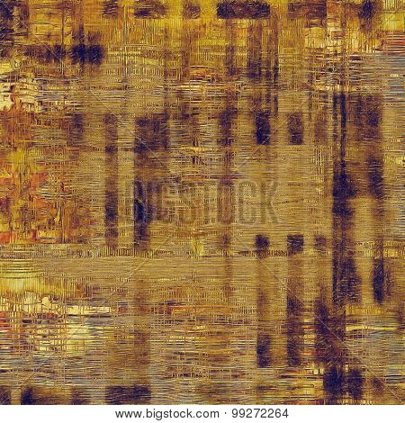 Rough grunge texture. With different color patterns: yellow (beige); brown; red (orange); purple (violet)
