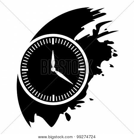 Clock - Vector Icon Isolated