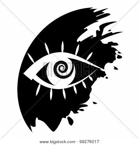 Vector Icon - Human Eye