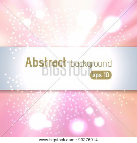 Pastels Pink Abstract Background Illustration