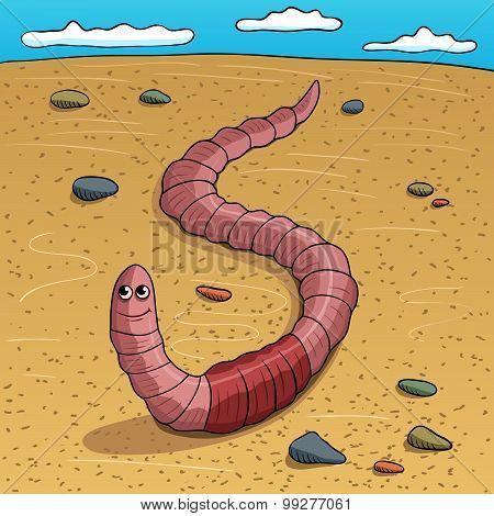 Crawling worm