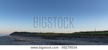 Early Morning On Aquinnah Public Beach