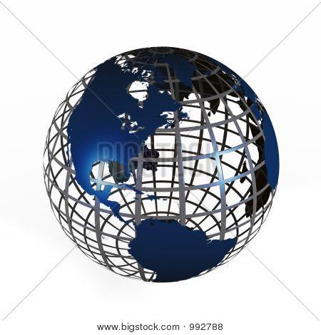 Steel Cage Globe