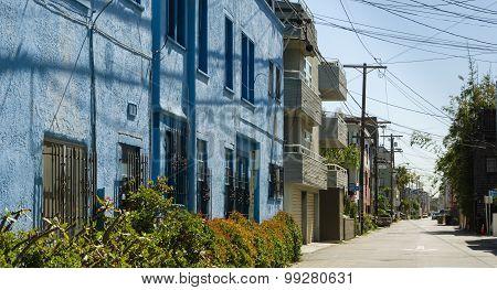 Narrow Road In Venice Beach