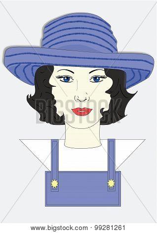 Millicent's Gardening Hat