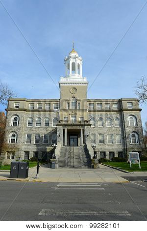 Newport City Hall, Rhode Island, USA