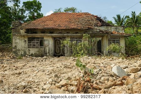 War Damaged House