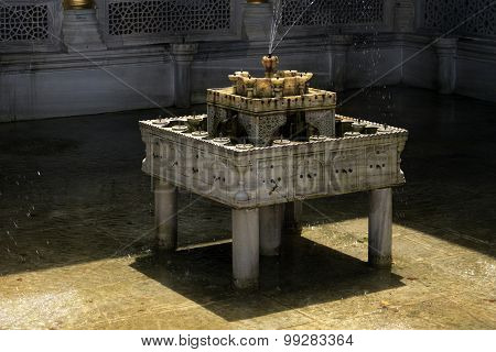 Tiered Fountain Topkapi Palace Istanbul