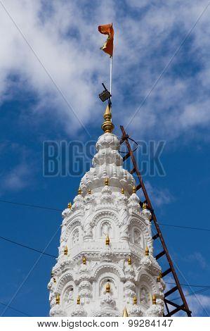 Dagdusheth Ganpati Hindu Temple Closeup