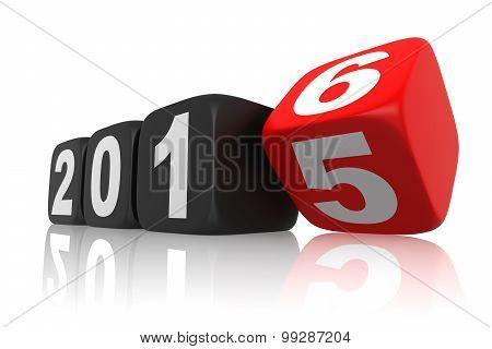 New Year 2016 Calendar