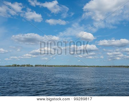 Clouds Over East Gull Lake 2