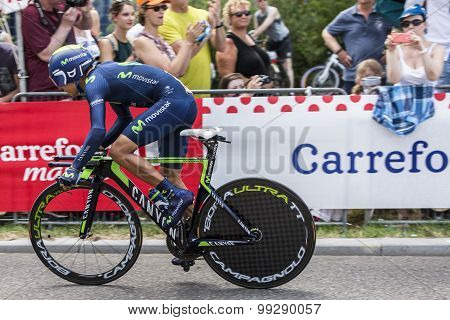 The Cyclist Nairo Quintana - Tour De France 2015