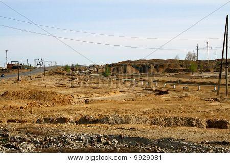 Industrial desert