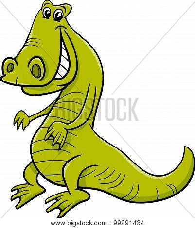 Crocodile Animal Character