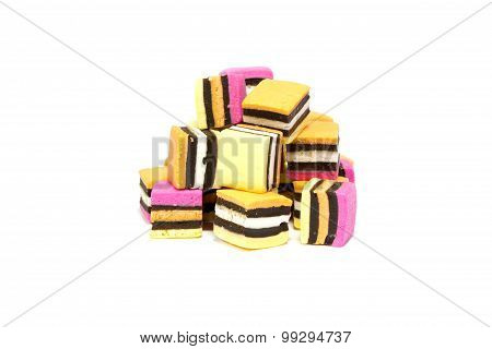 Licorice Allsorts Pile