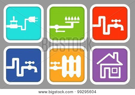 Utility icons