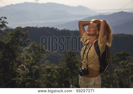 The Girl On The Mountain Travel
