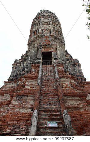 Chaiwatthanaram Temple in Ayutthaya Historical Park,