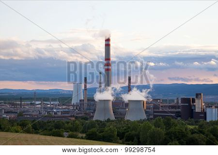 Petrochemical industrial plant, Czech Republic