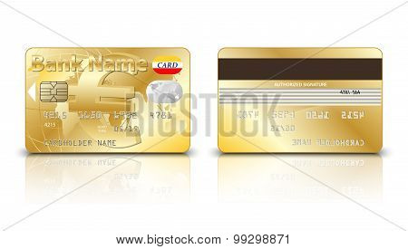 Gold Euro Credit Card