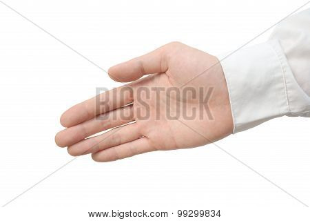 Handshake isolated