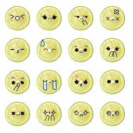 picture of emoticon  - Lemon emoticon  - JPG