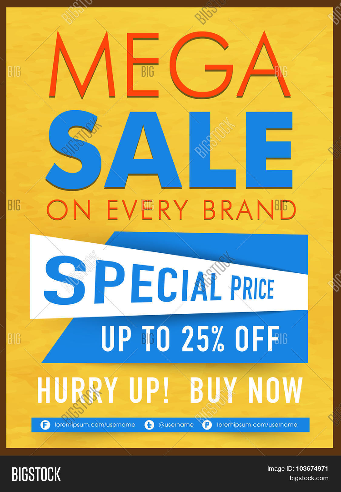 creative mega template banner or flyer design special creative mega template banner or flyer design special discount offer on every brand