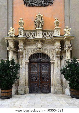 University Church Door