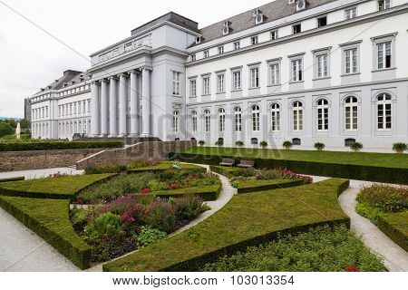 Electoral Palace In Koblenz, Germany.