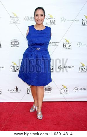 LOS ANGELES - SEP 26:  Jessica Cox at the Catalina Film Festival Saturday Gala at the Avalon Theater on September 26, 2015 in Avalon, CA