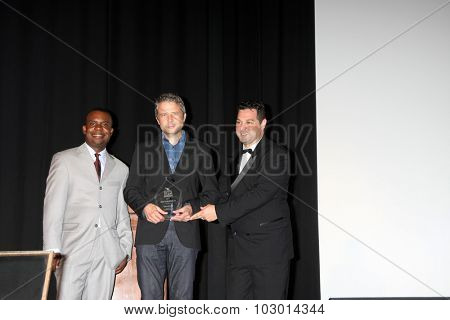 LOS ANGELES - SEP 26:  Delious Kennedy, Award Winners, Ron Truppa at the Catalina Film Festival Saturday Gala at the Avalon Theater on September 26, 2015 in Avalon, CA