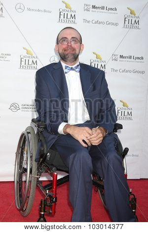 LOS ANGELES - SEP 26:  Christopher Reardon Lagom at the Catalina Film Festival Saturday Gala at the Avalon Theater on September 26, 2015 in Avalon, CA