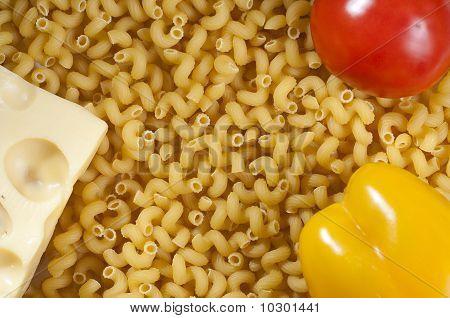 macaroni an vegetables