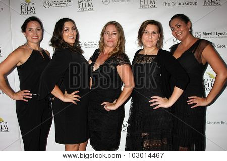 LOS ANGELES - SEP 26:  Jennifer Chidester, Modern PR Team at the Catalina Film Festival Saturday Gala at the Avalon Theater on September 26, 2015 in Avalon, CA