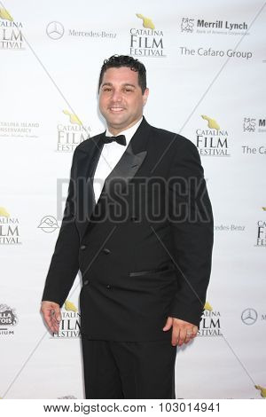 LOS ANGELES - SEP 26:  Ron Truppa at the Catalina Film Festival Saturday Gala at the Avalon Theater on September 26, 2015 in Avalon, CA