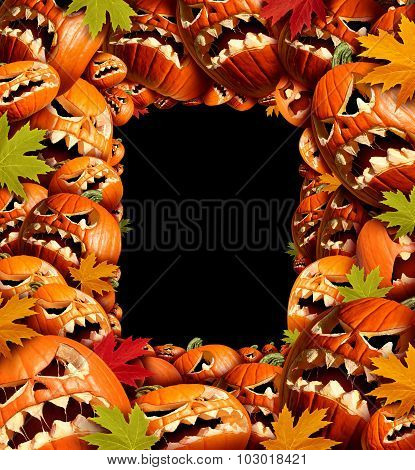 Halloween Vertical Border