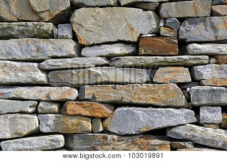 Stone wall as a background