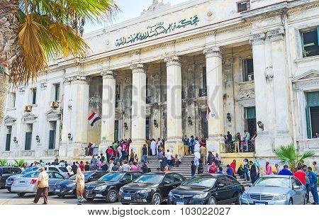 The Courthouse Facade