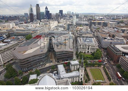 London From St Paul's Cathedral, Uk