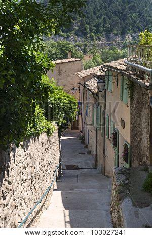 Sisteron (haute Provence, France)