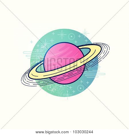 Space Planet Vector