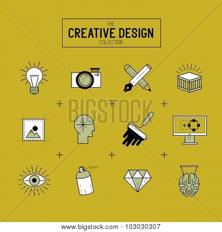 Creative Vector Icon Set