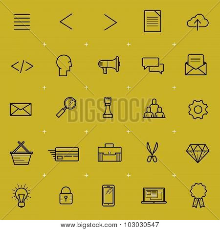 Web And Interface Icon Set