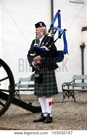 Edinburgh, Scotland, United Kingdom - June 16 : Unidentified Sco