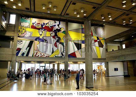 Foyer Of Tel Aviv Museum Of Art
