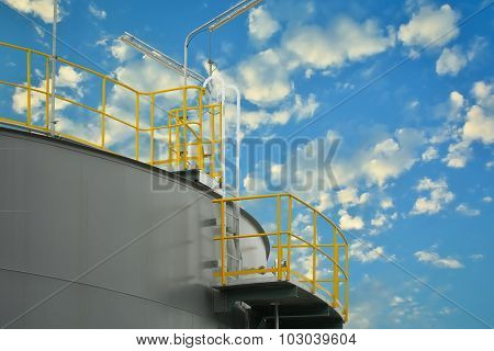 Liquid Storage Tank Of Power Plant.