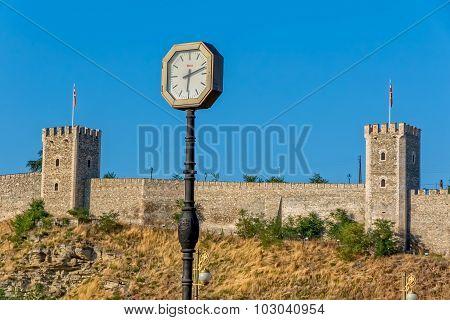 Skopje old clock
